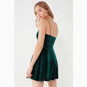 Urban Outfitters Dresses - ✨ Suede Skater Dress ✨